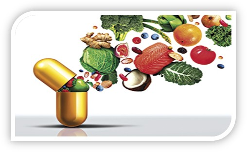 nutritional supplements to compensate for the deficiency in the body