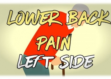 Pain in lower back on left side