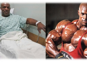 Ronnie Coleman amid secrets and trophies