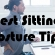4 wrong sitting postures cause back pain