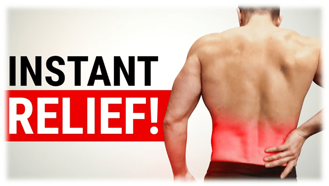 Photo of Instant relief of pulled muscle in the lower back