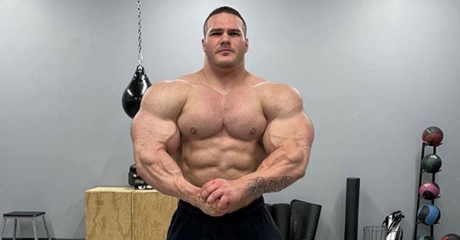 Nick walker's massive muscles & Achievements