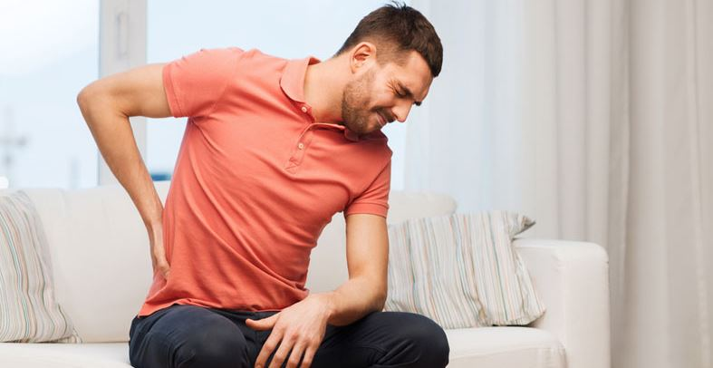 lower back pain and gas