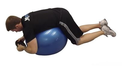 Weighted Ball Hyperextension