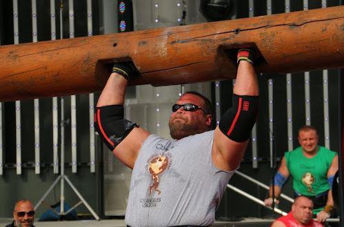 Terry Hollands Strongman life