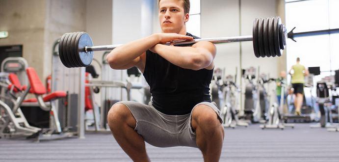 full classic kneeling squat