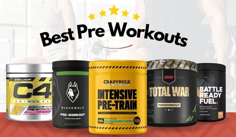 Best 4 Pre Workout supplements for Building Muscles
