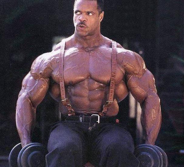 Paul Dillett muscles