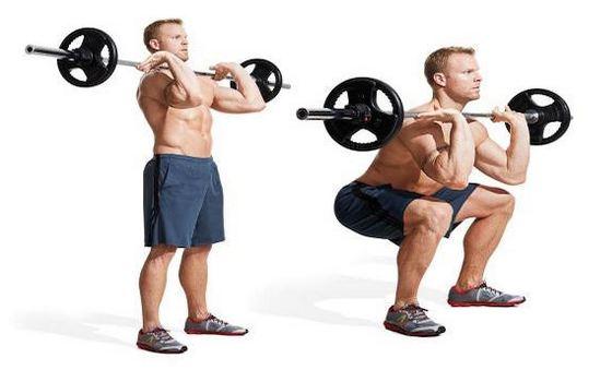 Benefits of kneeling squat exercise